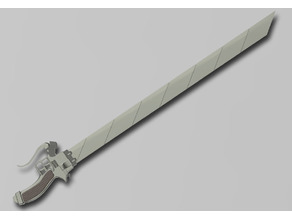 Attack on Titan Sword (With Removable Blade)