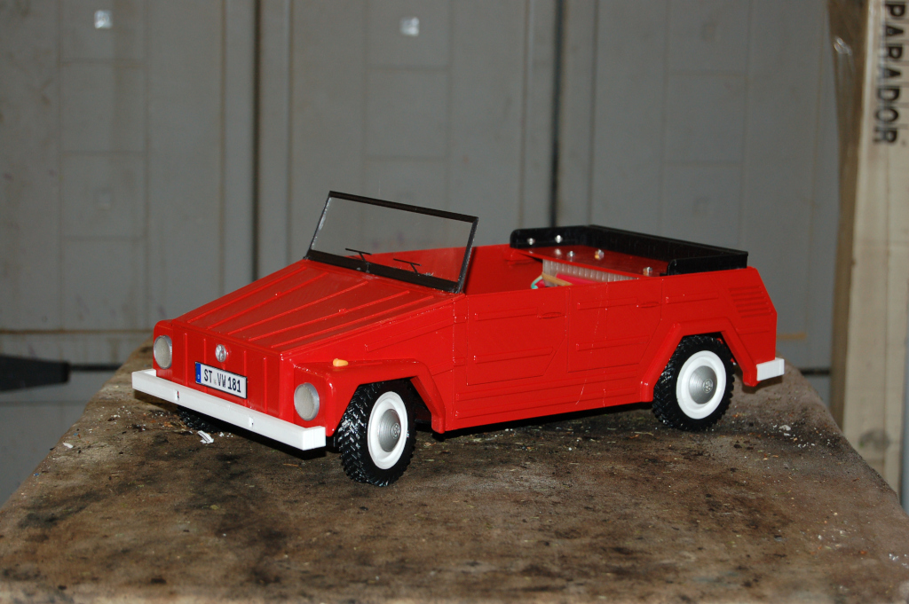 Bluetooth controled VW 181/Thing/Kübel