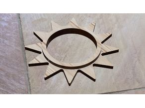 Gloomhaven - Sunkeeper Base, Laser Cut