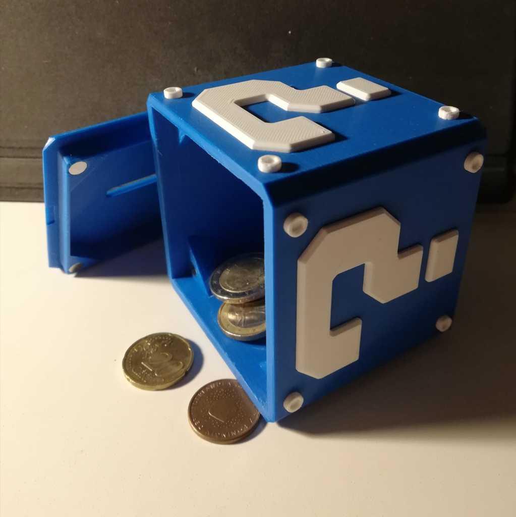 Mario Piggy bank (better printable)