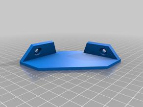 Corner camera mount