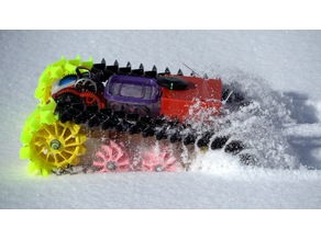 Snow Tank from RCTESTFLIGHT