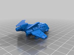 Epic Scale - Enhanced Humans - Small-Medium Gunship