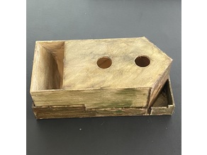 Collapsible Wingspan board game bird-feeder dice tower