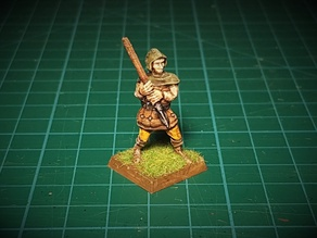 Bandit with spear 28mm (no supports needed)