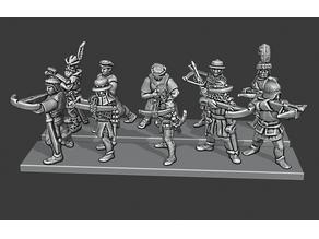Warmaster Empire Crossbowmen