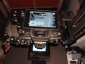 120 + 135 digital camera scanning frames