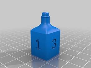 Potion Dice w/ Numbers