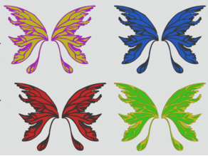 Fairy Wings #3 for remixes