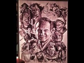 Robin Williams Lithophane