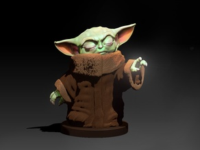 Force User Baby Yoda