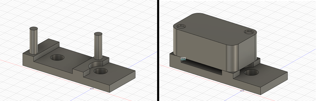 Limit Switch Mount for 2040 Extrusion