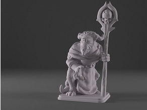 HeroQuest - Fimir Meargh Wizard