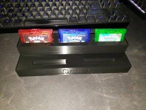Pokemon Cartridge Holder (Gen 3)