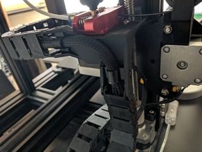 Improved Cable Chain Angle Mount Ender 3 (Pro)