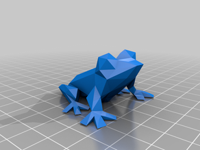 Low Poly Tree Frog