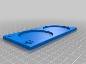 Legion Unit Trays (2 Support spots 70MM Base); All Factions