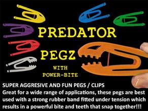 Predator Pegz