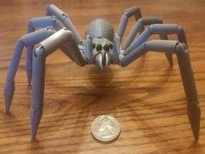 Articulated tarantula spider