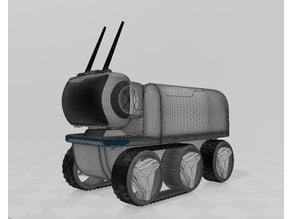 LEVi Rover Raspberry Pi Modular Robot , OPEN Hardware, 3D Print Edition