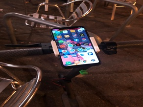 Smartphone mount for m365
