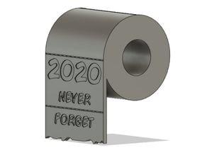 2020 Christmas Toilet Paper Ornament