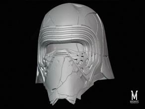 Kylo Ren Helmet - The Rise of Skywalker - Reforged Version