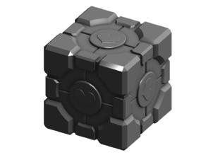 Portal 1 Companion Cube