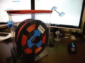 Individual-Spool Dry-box Inserts and Modified Universal Auto-Rewind Spool Holder