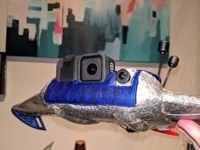 S800 GoPro 8 & DJI Digital FPV Camera Mount