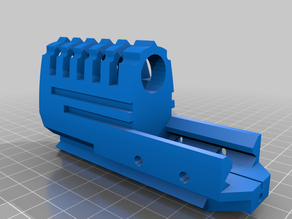 ppq paintbal pistol compensator
