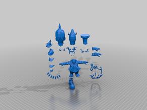 modular chaos dwarf blocker - blood bowl - tm
