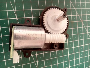 Robot Vacuum Cleaner Replacement Wormgear Transmission