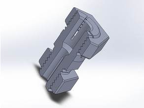 Self-centering tapered-thread Z-axis coupling 8/5 mm