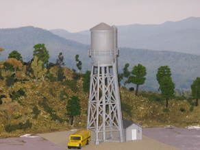 HO Scale NEW Water Tower