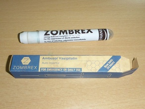 Zombrex vaccine Auto-Injector (actually working)