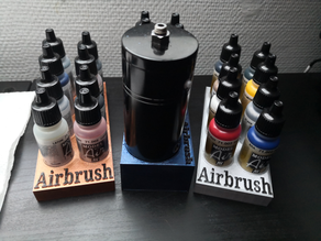Airbrush Base / Color Holder