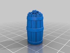 Barrel of lemons for tabletop gaming