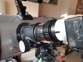 action camera to telescope