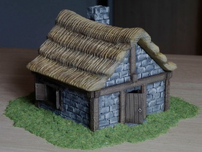 Medieval country cottage