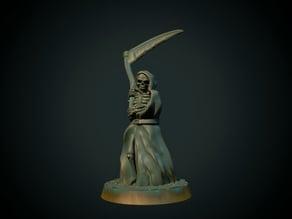 Grim Reaper 28mm (supportless, FDM friendly)
