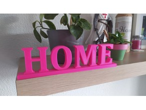 HOME Word Decoration