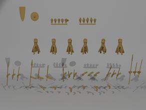 Sisterhood Infantry Miniatures Customizable