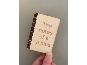 Folding notebook