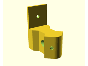 Parametric Anycubic Kossel Wall Brace for 2020 (Customisable)