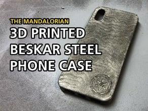 Mandalorian | Beskar Steel iPhone X Case