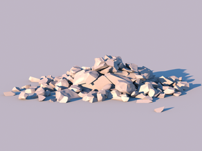 Pile of Rubble (high quality)