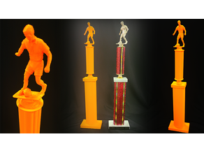 Custom Soccer Trophy Award Replica