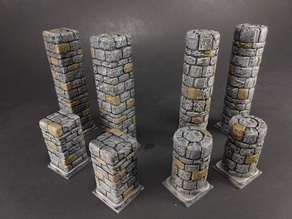OpenForge 2.0 Dungeon Stone Full Pillars