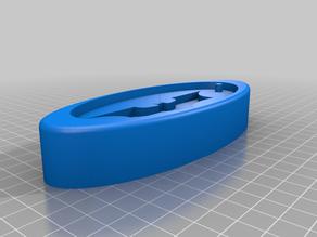 One-part resin/epoxy keychain molds